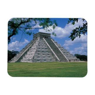 North America, Mexico, Yucatan Peninsula, 2 Rectangular Photo Magnet