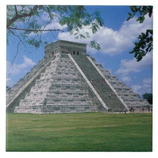 North America, Mexico, Yucatan Peninsula, 2 Large Square Tile