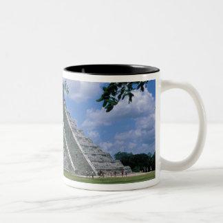 North America, Mexico, Yucatan Peninsula, 2 Two-Tone Coffee Mug
