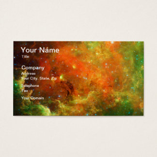 North America Nebula Business Card