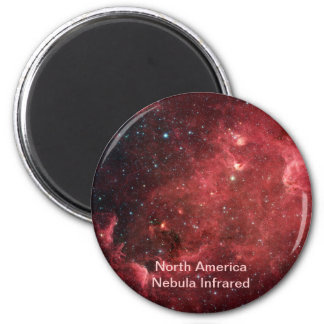 North America Nebula Infrared Magnet