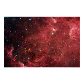 North America Nebula Infrared Posters