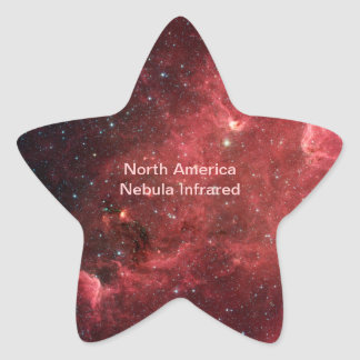 North America Nebula Infrared Star Sticker