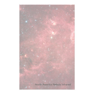 North America Nebula Infrared Stationery