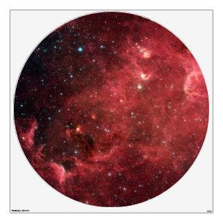 "North America Nebula - Infrared Wall Decal 48""x48"""