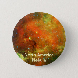 North America Nebula Pinback Button