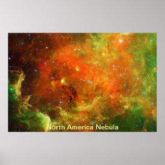 North America Nebula Posters