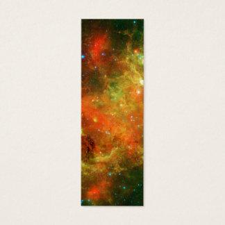North America Nebula Space NASA Mini Business Card