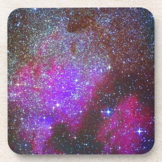 North America Nebula. The Milky way. Beverage Coaster