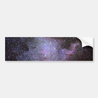 North America Nebula. The Milky way. Etiqueta De Parachoque