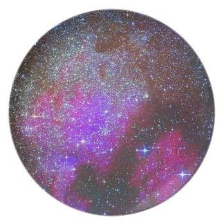 North America Nebula. The Milky way. Melamine Plate