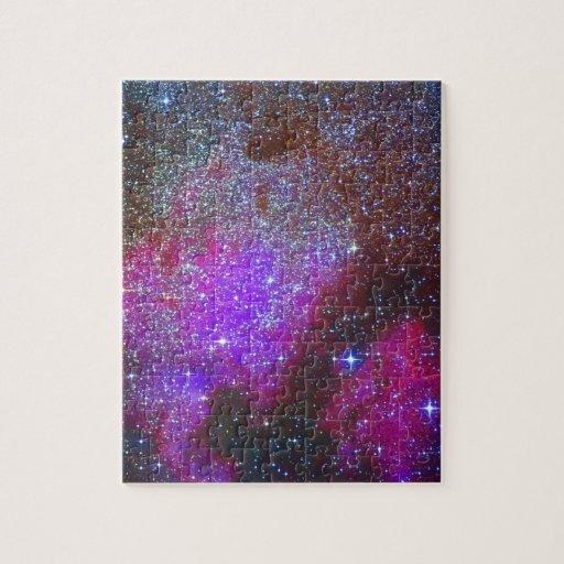 North America Nebula. The Milky way. Puzzle