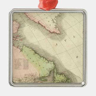 North America Northeast Metal Ornament