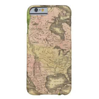North America Olney Map Barely There iPhone 6 Case