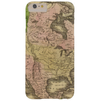 North America Olney Map Barely There iPhone 6 Plus Case
