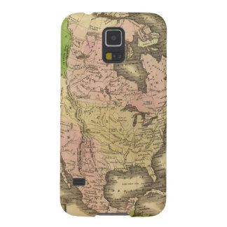 North America Olney Map Case For Galaxy S5