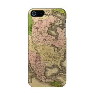 North America Olney Map Incipio Feather® Shine iPhone 5 Case