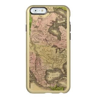North America Olney Map Incipio Feather® Shine iPhone 6 Case