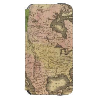 North America Olney Map Incipio Watson™ iPhone 6 Wallet Case