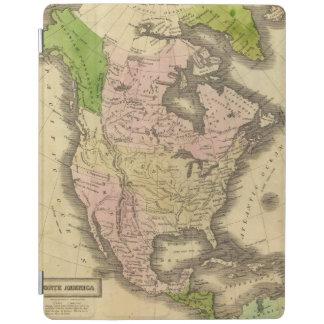 North America Olney Map iPad Cover