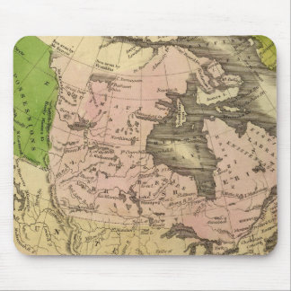 North America Olney Map Mousepads