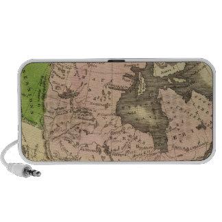 North America Olney Map Notebook Speakers