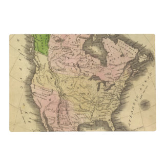 North America Olney Map Placemat