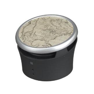 North America outline map Bluetooth Speaker