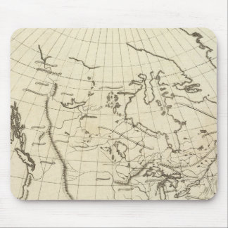 North America outline map Mouse Pad