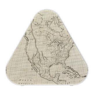 North America outline map Speaker