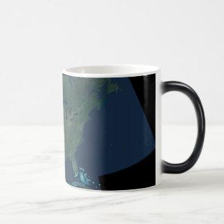 North America Panorama Coffee Mugs
