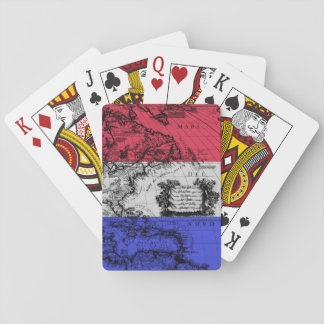 North America Playing Cards Old World Cartography