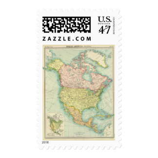 North America political Postage