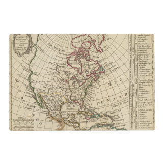 North America School Placemat