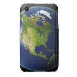 North America Seen from Space 2 Case-Mate iPhone 3 Cases
