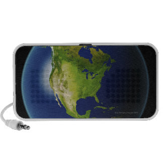 North America Seen from Space 2 Travelling Speaker