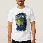 North America Seen from Space 2 T Shirt