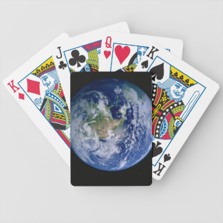 North America Seen from Space Bicycle Playing Cards