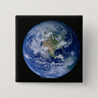 North America Seen from Space Button