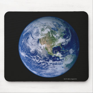North America Seen from Space Mouse Pad