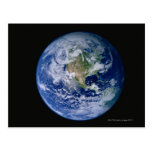 North America Seen from Space Postcard