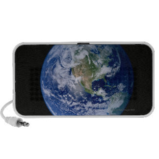 North America Seen from Space Notebook Speakers