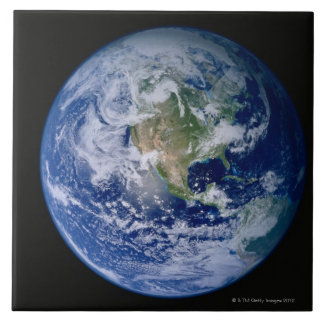 North America Seen from Space Tile