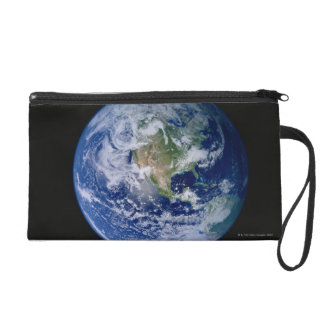 North America Seen from Space Wristlet Purse