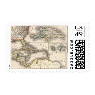 North America Southeast Postage Stamp