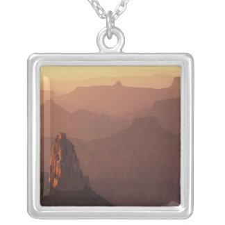 North America, U.S.A., Arizona, Grand Canyon, Silver Plated Necklace