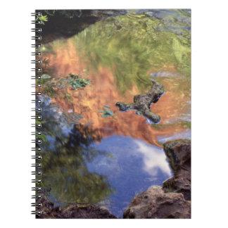North America, U.S.A., Arizona, Havasu Canyon, 3 Notebook