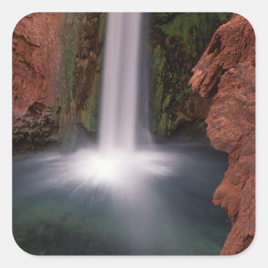 North America, U.S.A., Arizona, Havasu Canyon, Square Sticker