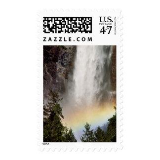 North America, U.S.A., California, Yosemite Postage