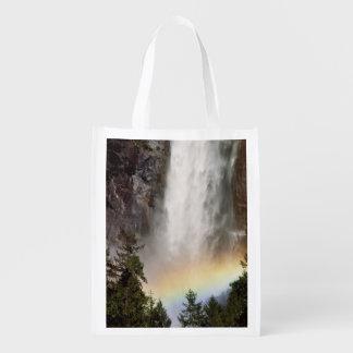 North America, U.S.A., California, Yosemite Grocery Bag